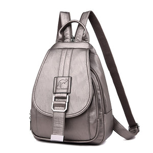 Vintage anti-theft backpack-Backpack-Pragmatic Travel Avenue
