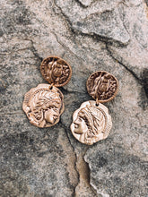 Load image into Gallery viewer, Roman Coin Earrings