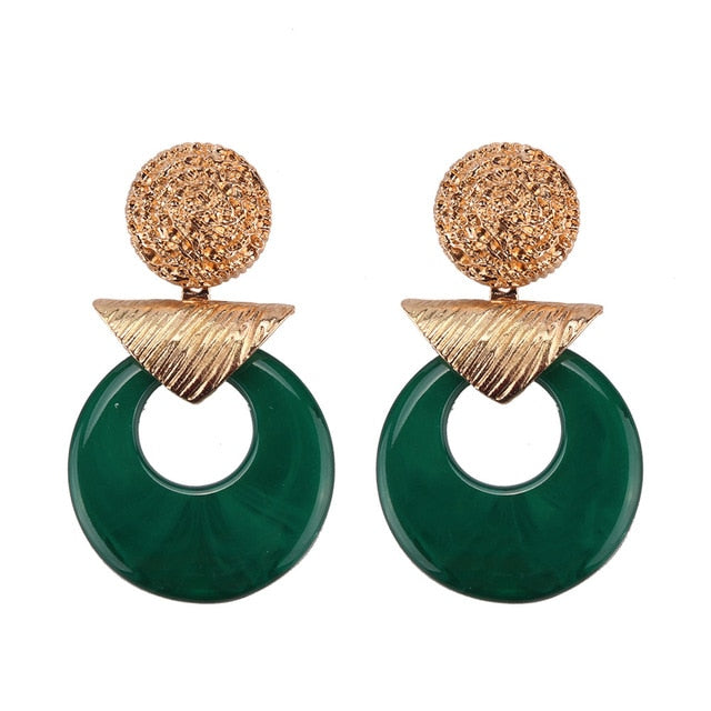 Neptis Earring Green