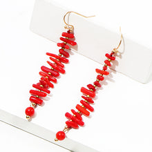 Load image into Gallery viewer, Island Earrings Red