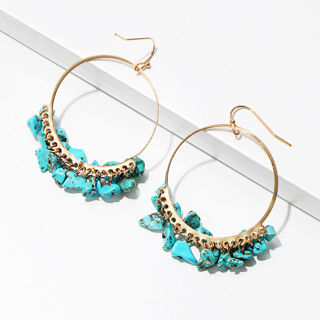 Nusa Turquoise Earrings