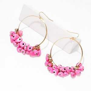 Nusa Pink Earrings