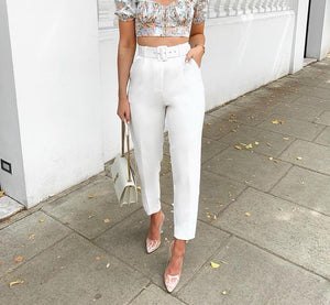 Mila High Waisted Trousers