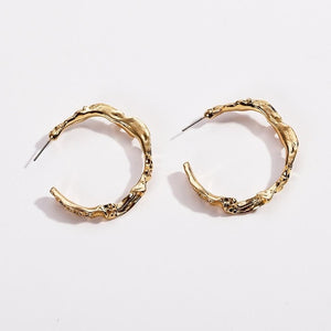 Golden Exotic Hoops