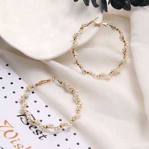 Paris Tangled Hoops