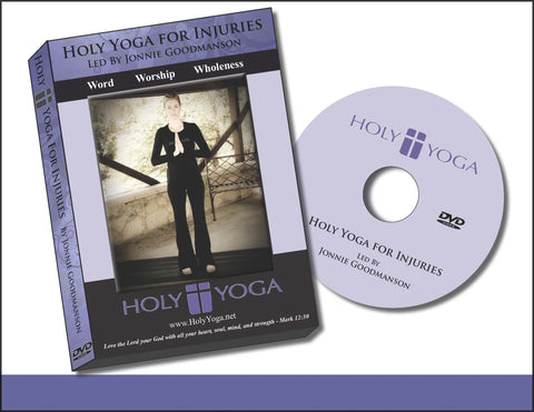 Holy Yoga for Injuries DVD Digital Download