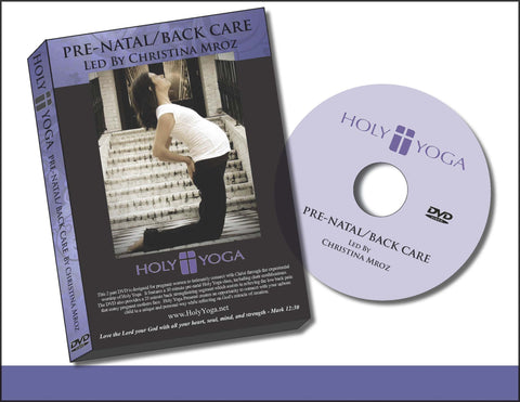 Holy Yoga Prenatal/Back Care DVD