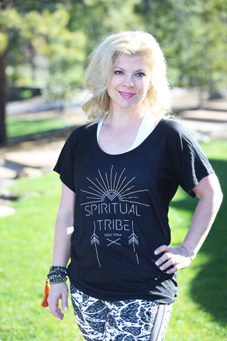 Spiritual Tribe- Womens Singatrure Collection Flowy Tee