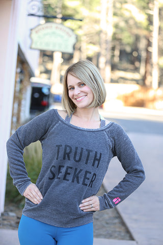 Truth Seeker Fleece Sweatshirt