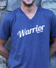 Warrior Tee-Unixex Short Sleeve V-neck