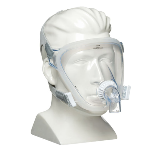 FitLife Total Face CPAP Mask With Headgear By Philips Respironics (Size Large)
