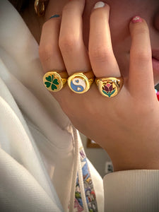 Fun Chunky rings
