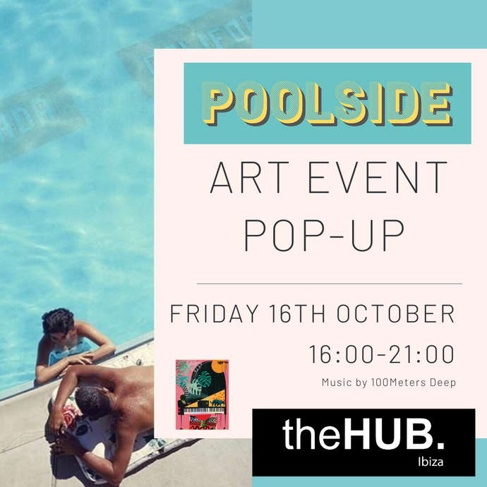 Poolside Pop-up at The Hub Ibiza