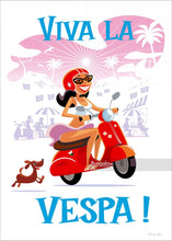 Load image into Gallery viewer, Viva La Vespa