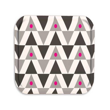 Load image into Gallery viewer, Pink Triangle Wooden Tray