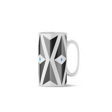 Load image into Gallery viewer, Blue Lg Triangle Mug