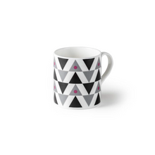 Load image into Gallery viewer, Blue SML Triangle Mug