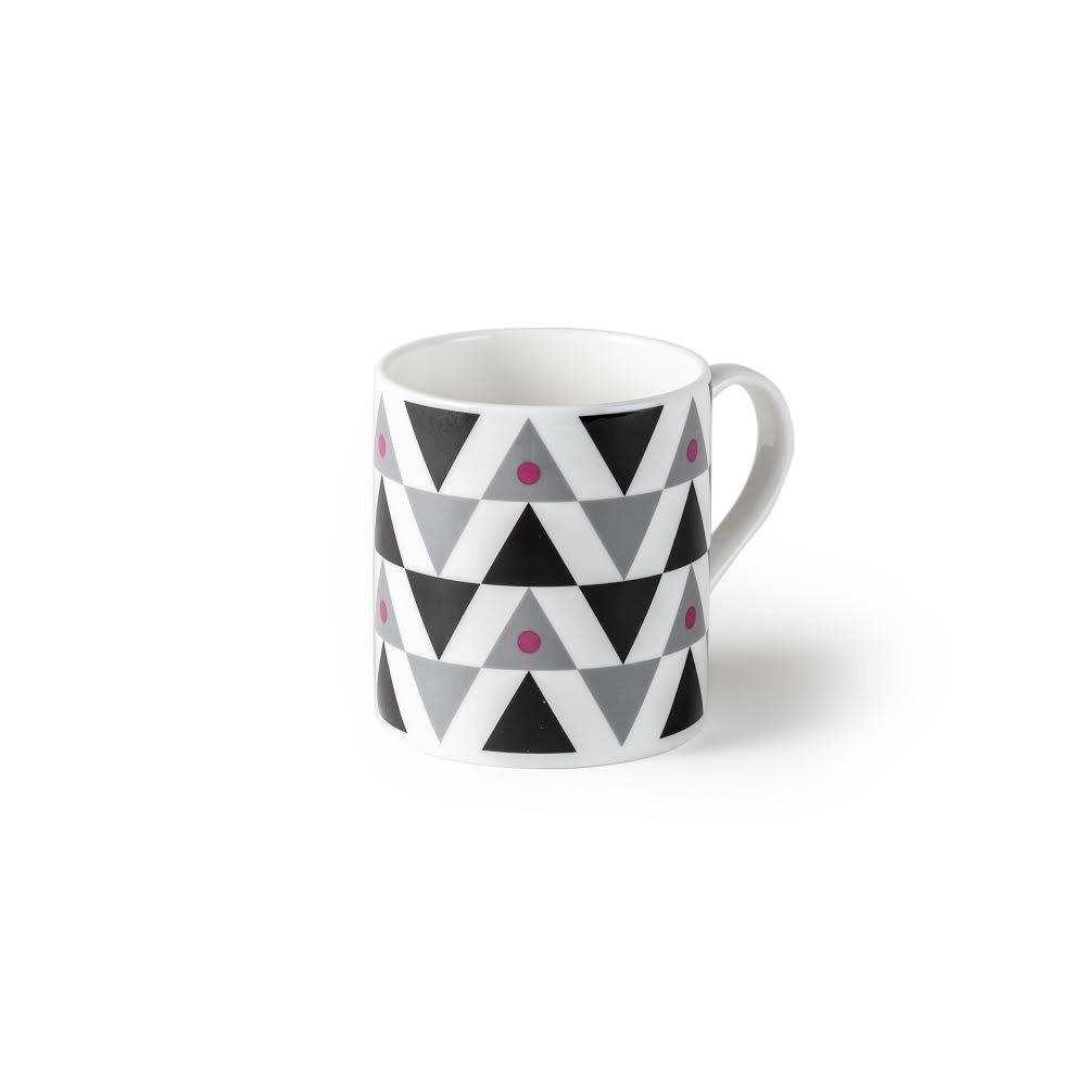 Blue SML Triangle Mug