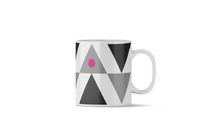 Load image into Gallery viewer, Lg Pink Triangle Mug