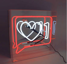 "Load image into Gallery viewer, Neon Acrylic Box, ""Like"""