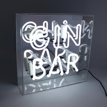 Gin Bar Neon light