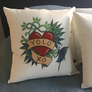 Yolo cushion