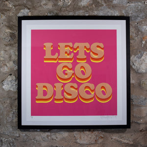 LETS GO DISCO