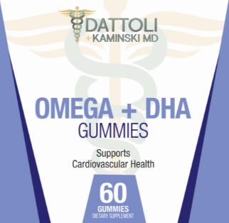 Omega + DHA Gummies (60 Count)