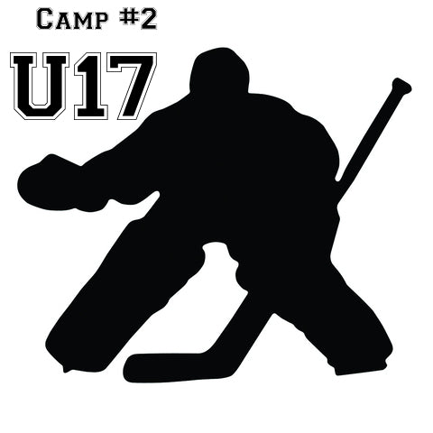 U17 (2004,05,06,07)Aug.24-28 Co-ed GOALIE  On-ice 3030 Hockey Mark Messier Arena 4:30pm-5:30pm