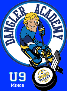 U9 Minor (Initiation)(1st yr 6-8) Aug 17-21. Aug 17&19-On-ice Power Skating 9:15am-10:30am & off-ice Dangler Academy 11:00am-12:15pm,  Aug 18&20,On-ice 3030 Hockey 9:00am-10:30am & off-ice Dangler Academy 10:45am-11:45am GAME DAY AUG 21st (9:00am-10:30am)