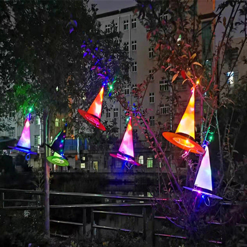 Halloween luminous hat dance party decoration LED luminous
