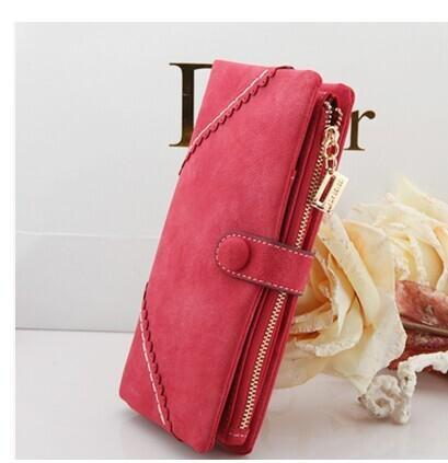 Women Folding Clutch Large Capacity Wallet