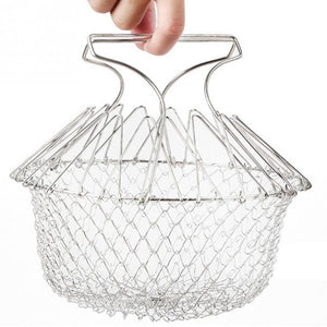 Stainless steel  basket  French fries to oil kitchen tools