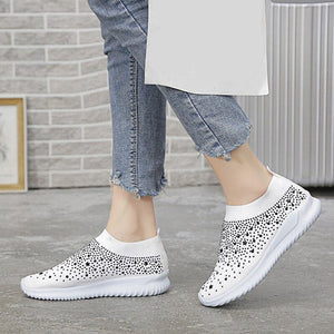 Breathable Mesh For Comfortable Outdoor Casual Shoes