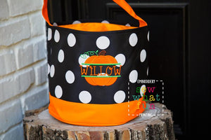 Trick or treat bag&Trick-or-treat bucket