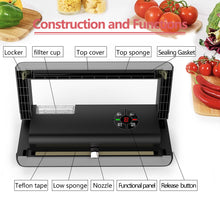 Load image into Gallery viewer, Free shipping semi-industrial vacuum Sealer VS06