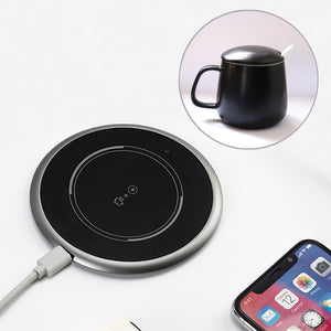 Coffee Mug Warmer with 24W Fast Wireless Charger