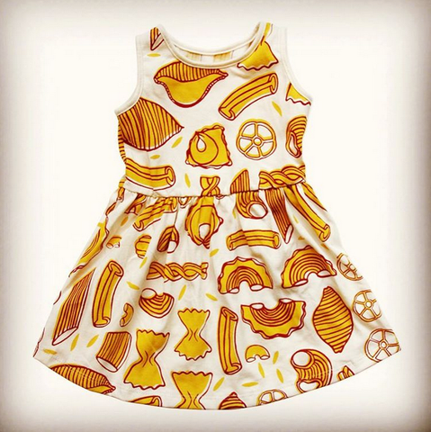 Petit Pilou pasta dress