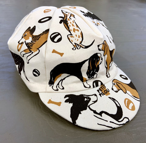 Organic Cotton Dog Cap