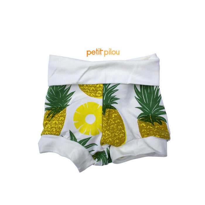 Petit Pilou pineapple shorts
