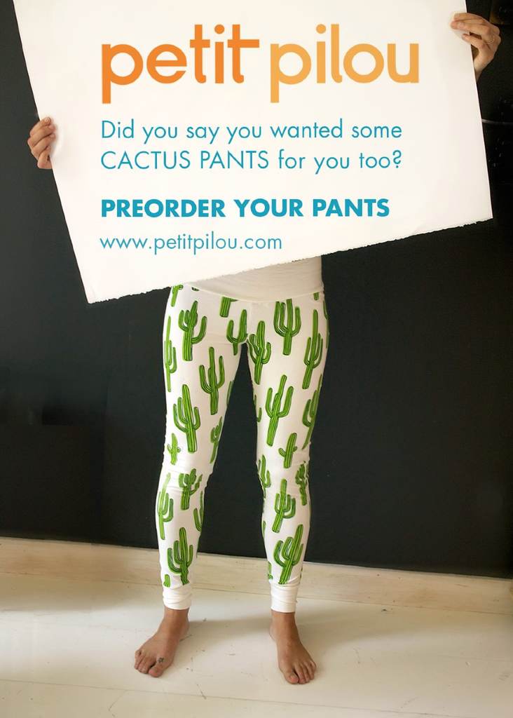 Cactus, Pineapple, or Pasta Pants for Mama