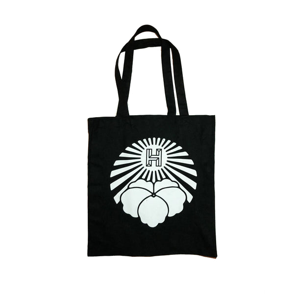 The Sun Shines - Black Canvas Tote