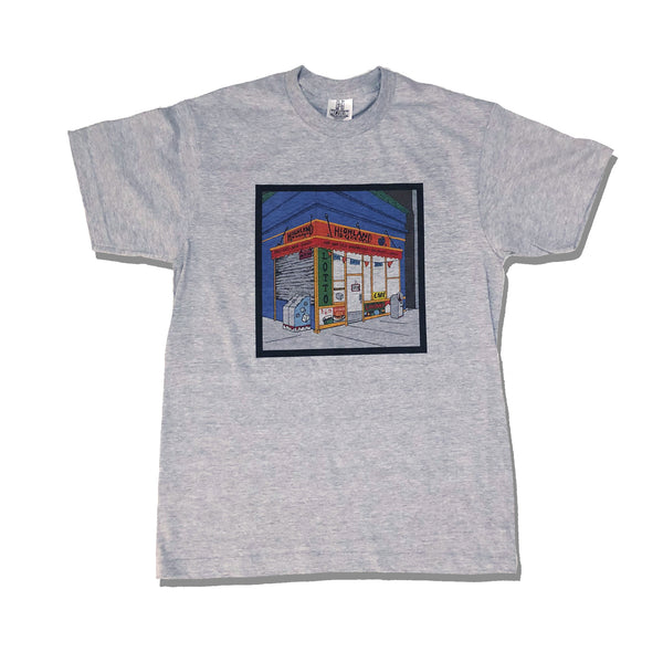 Highland Bodega T-Shirt - Grey