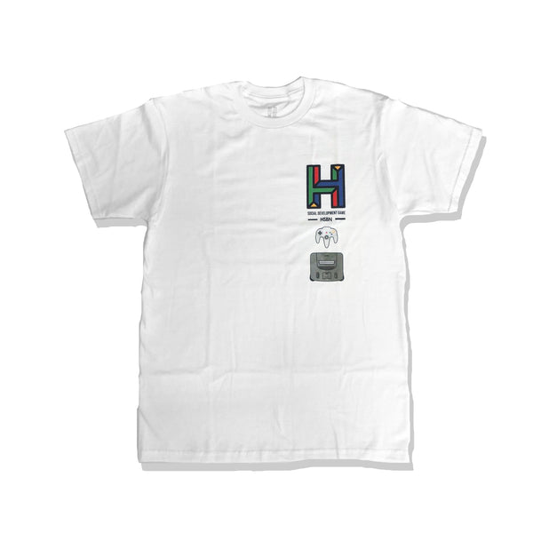 (LIMITED) Essential Retro T-Shirt - White