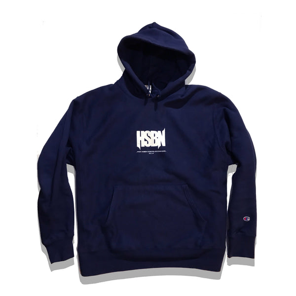 """Blue Chill"" - HSBN x Champion Reverse Weave 12 oz. Hoodie"