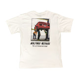 Halfway Repairs Garage Pocket Tee - White