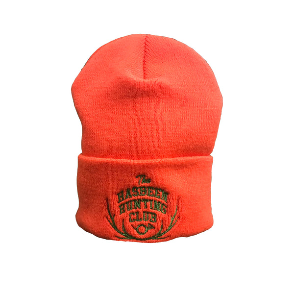 The Hasbeen Hunting Club Beanie - Orange
