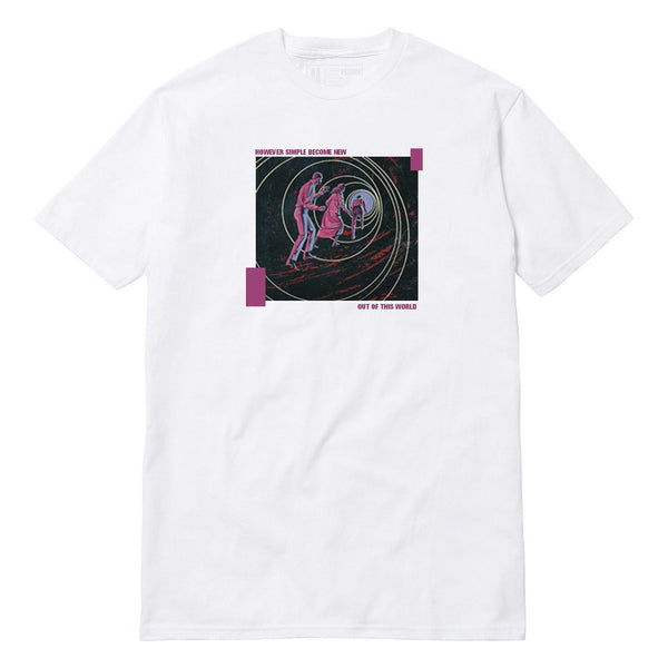 Out Of This World Short Sleeve - M - White
