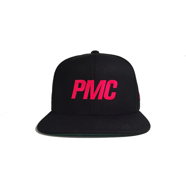 HSBN PMC Snapback Hot Pink Green Bottom Field Cap