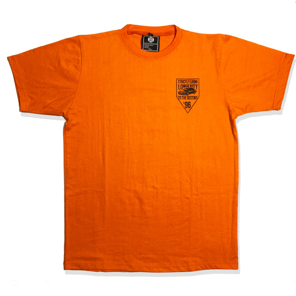 'Sky's The Limit' T-Shirt - Orange